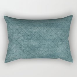 Green Ocean - Solid color accessories and Fashion Rectangular Pillow