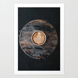 Coffe Art Art Print