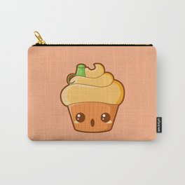Spooky Cupcake - Pumpkin Carry-All Pouch