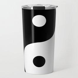 Yin And Yang Sides Travel Mug