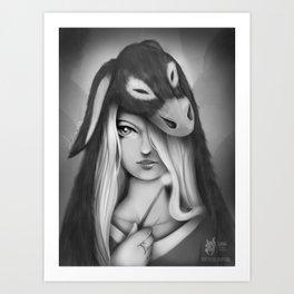 Peel of the Donkey Art Print