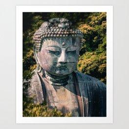 Great Buddha of Kamakura - Kamakura Daibutsu  - Kotoku-in Art Print