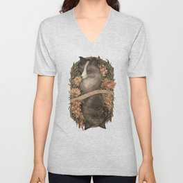 Friend Fox, Foe Fox Unisex V-Neck