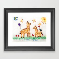 :: Good Friends :: Framed Art Print