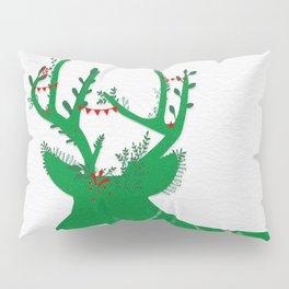 Green Stag Pillow Sham