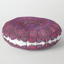 Purple Mandala Floor Pillow
