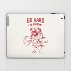 GO HARD OR GO HOME Laptop & iPad Skin