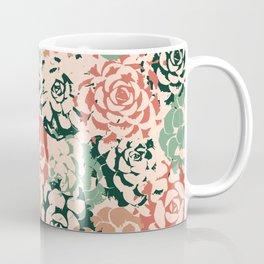 Stamped Succulents Coffee Mug