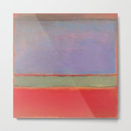 1951 No 6 Violet Green and Red by Mark Rothko HD Metal Print