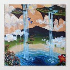 Costa Rican Lagoon Canvas Print