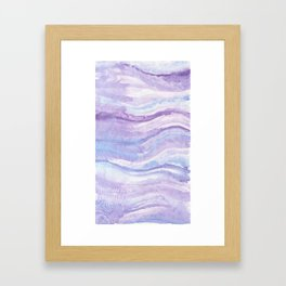 Abstract textile Framed Art Print