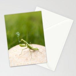 Smoking Praying Mantis Stationery Cards