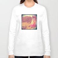 calm Long Sleeve T-shirts featuring Calm by Eirin Wie Haveland