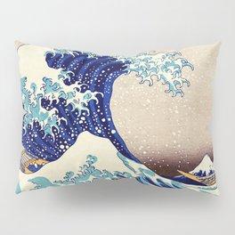 Katsushika Hokusai The Great Wave Off Kanagawa Pillow Sham