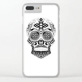 Skull-o-mania Clear iPhone Case