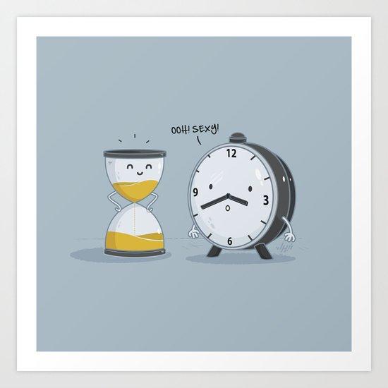 Hourglass Figure Art Print