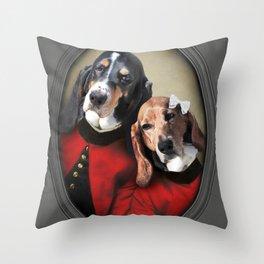 Hound Love Throw Pillow
