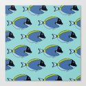 Powder blue surgeon fish pattern by stephaniepeters