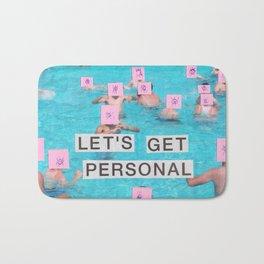let's get personal Bath Mat