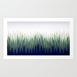 PineGradient 2 Art Print