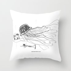 Jason and Jennica Throw Pillow