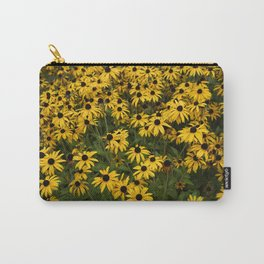Yellow Garden Flowers Carry-All Pouch