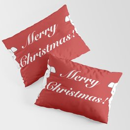 Bunny Christmas Pillow Sham