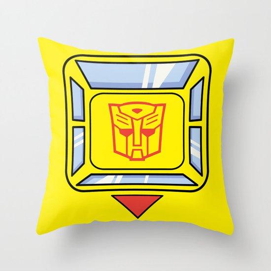 Transformers - Bumblebee Throw Pillow