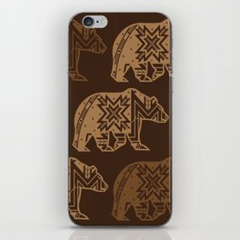 Bear Spirit iPhone Skin