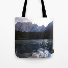 Lake Atmosphere Tote Bag