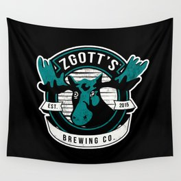 Zgott's Brewing Co. Wall Tapestry