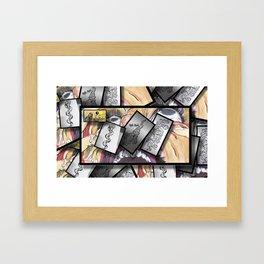 Kyla-Mairi-collage Framed Art Print