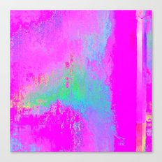 08-03-13 (Cave Glitch) Canvas Print