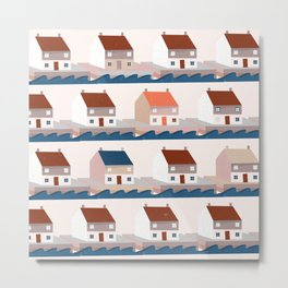 A house by the sea Metal Print