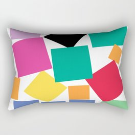 Square Elephant Rectangular Pillow
