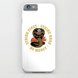 Cobra Kai Show No Mercy iPhone Case
