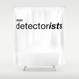 Detectorists Shower Curtain