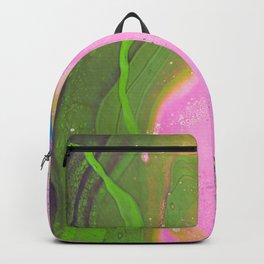 Dirty Acrylic Paint Pour 30, Fluid Art Reproduction Backpack