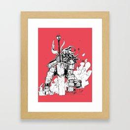 Great Sword Framed Art Print