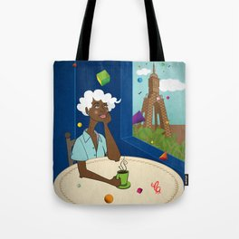 Coffee in the Boulevard Tote Bag