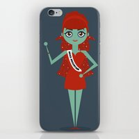 argentina iPhone & iPod Skins featuring Miss Argentina by Kristen Tryon