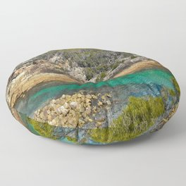 Land and Seascapes Floor Pillow