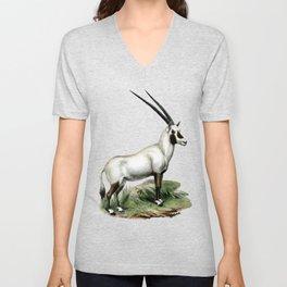 Arabian Oryx Unisex V-Neck