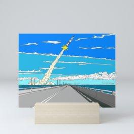 To the Moon Mini Art Print