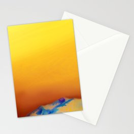 Mountain lights Stationery Cards