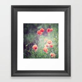 Flow(ers) Framed Art Print