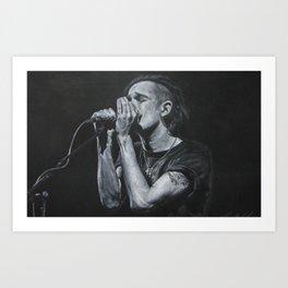 Matt Healy Portrait Art Print