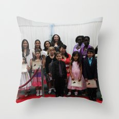 Class Picture Throw Pillow
