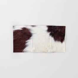 Cowhide Fur Hand & Bath Towel