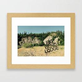 BBL Dop Kit Framed Art Print